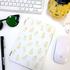 Summer is coming. Pineapple iPad case by Wonder Forest.♥♥ Buy on Casetify for… Cute Ipad Cases, Ipad Mini Cases, Cute Cases, Ipod Cases, Ipad Accessories, Macbook Case, Ipad 4, Tech Gifts, Apple Products