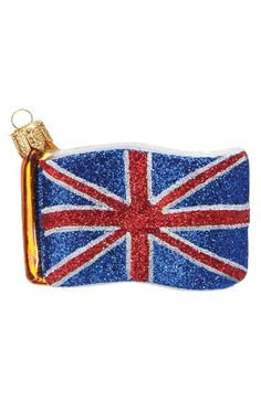 Free shipping and returns on Nordstrom at Home British Flag Ornament at Nordstrom.com. Sure to be an heirloom, a handblown British flag ornament is hand painted with rich detail by artisans in Poland and dusted with glitter for enchanting sparkle.