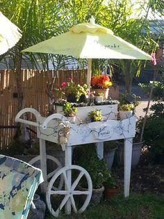 My flower cart