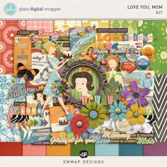 Love you, Mom by EmmaP Designs