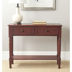You'll love the Clayton 2 Drawer Console Table at Wayfair - Great Deals on all Furniture products with Free Shipping on most stuff, even the big stuff.