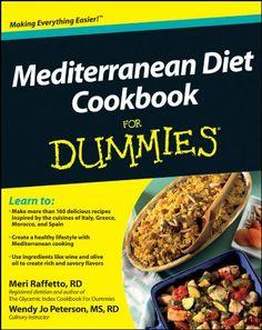 Mediterranean Diet Cookbook For Dummies by Meri Raffetto (P01/2017, Kindle)