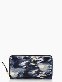 Cedar Street Clouds Lacey wallet from Kate Spade