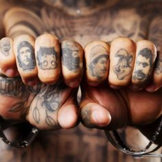 Easily the coolest finger tattoos I have ever seen.