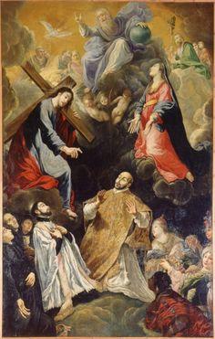 Claude Vignon - Le Treomphe de Saint Ignace