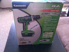 Kawasaki Cordless drill