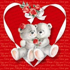 by Florynda del Sol ღ☀¨✿ ¸.ღ ♡♥♡Happy Valentine's day! Cute Teddy Bear Pics, Teddy Bear Quotes, Teddy Bear Images, Teddy Bear Pictures, Happy Face Images, Love You Images, Fairy Wallpaper, Disney Wallpaper, Paper Illustration