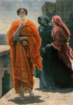 Helen of Troy by Frederic Lord Leighton :: artmagick.com
