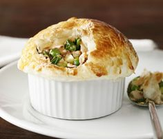 Easy chicken pies