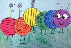 Shape project for Kindergarten. Colors of the rainbow; shape-circle and goes great with The Hungry Caterpillar book Color Wheel Lesson, Color Wheel Art, Color Wheel Projects, Kindergarten Art Lessons, Art Lessons Elementary, Kindergarten Colors, Kindergarden Art, First Grade Art, Spring Art