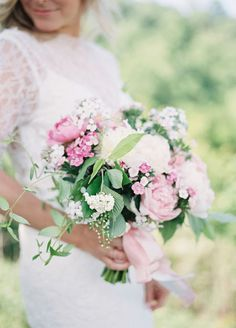 Flaunting flowers that are readily available in the season of your wedding will help you save big on a beautiful bouquet!