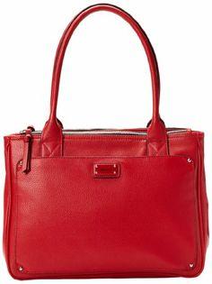 Amazon.com: Nine West Double Vision Large Shopper Shoulder Bag,Dark Lip,One Size: Shoes