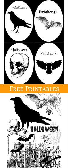 Free Printable Halloween Signs Halloween chalkboard, Free - print halloween decorations