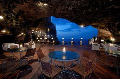 Hotel Ristorante Grotta Palazzese Polignano a Mare/イタリア