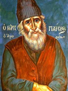 Elder Paisios The Athonite We Must Not Create Too Many Fronts People today do not live simply and for this reason they suffer fro. Byzantine Icons, Byzantine Art, Religious Icons, Religious Art, Greek Icons, Orthodox Christianity, World Religions, The Monks, Orthodox Icons