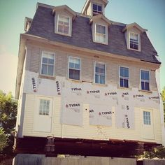 To preserve the integrity of the historic Inn building, we've jacked the entire building up on stilts to build a sturdy new foundation for o... Art In The Age, Tamworth, Distillery, Integrity, Preserve, Foundation, Mansions, House Styles, Building