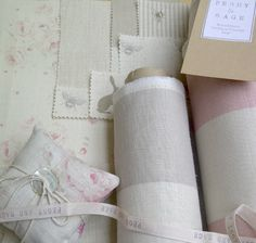 I really love Peony & Sage fabrics.  Lovely to work with and so quintessentially English.