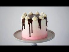 Ombré Neapolitan Cake   Preppy Kitchen