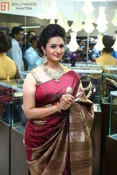 Divyanka Tripathi in Saree Indian Silk Sarees, Indian Beauty Saree, Beautiful Indian Actress, Beautiful Actresses, Bollywood Fashion, Bollywood Actress, Indian Bollywood, Divyanka Tripathi Saree, Iranian Women Fashion