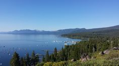 Tahoe City and the West Shore of Lake Tahoe as seen from Rocky Ridge
