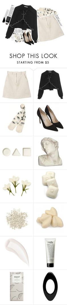 """""""{ Happy New Years! }"""" by kjvlulu ❤ liked on Polyvore featuring Carven, VIVETTA, Monki, Manolo Blahnik, iittala, House Parts, Gianna Rose Atelier, Urban Decay, By Terry and philosophy"""