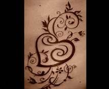 tattoos hearts and swirls - Bing Images