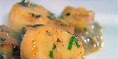 Try this Scallops Provencal recipe by Chef Ina Garten. This recipe is from the show Barefoot Contessa.