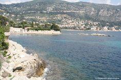 Baie de Rompe-Talon - Promenade Maurice Rouvier( 06, entre St Jean Cap Ferrat et Beaulieu/Mer)