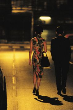 Maggie Cheung & Tony Leung in Wong Kar-wai's In the Mood For Love (2000).- Cinematographer. Christopher Doyle