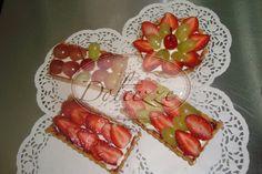 Mini Tartaletas de frutas de temporada con crema pastelera de vainilla