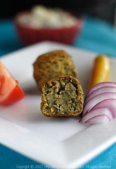Baked Spinach and Potato Koftas (vegan and gluten-free)