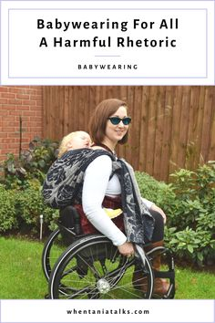 Can anyone carry a baby in a sling? What if you have a chronic illness, injury or disability? Find out what I think, as a chronically ill, disabled babywearing educator. T Dress, Stick It Out, Chronic Illness, Disability, Baby Wearing, Back Pain, Infant, Parenting, Take That