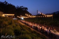 Beautiful night at Stags Leap Wine Cellars for their 25th anniversary dinner