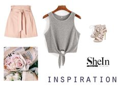 """""""Shein"""" by eminnuo ❤ liked on Polyvore featuring Carvela and Miss Selfridge"""