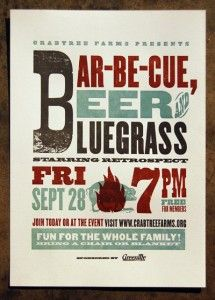 Bar-be-que, Beer & Bluegrass