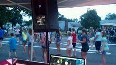 DJ block party
