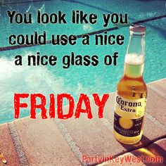 Key West Florida and Beer go together! http://partyinkeywest.com/ for everything to do in #KeyWest. #beer #fridayquotes