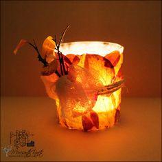Meresanth Krafts: Jesienny świecznik / An autumn candle holder