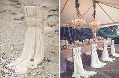 Wedding Magazine - 31 ways to make more of your bride and groom wedding chair backs