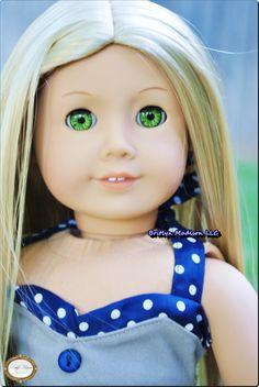 Premium Brand Custom 18 inch Doll wigs for American Girl Dolls Custom American Girl Dolls, Doll Wigs, Premium Brands, Ag Dolls, 18 Inch Doll, Doll Clothes, Houses, Disney Princess, Tops