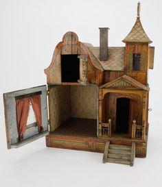 An Unusual Transitional Gottschalk Dolls' House : Lot 50