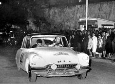 1961 Tour de Corse: Rene Trautmann/Jean-Claude Ogier, winners, Citroen ID19