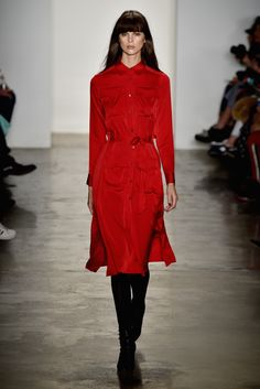 Highlights From New York Fashion Week Fall 2015  - ELLE.com. This is stunning yet simple!