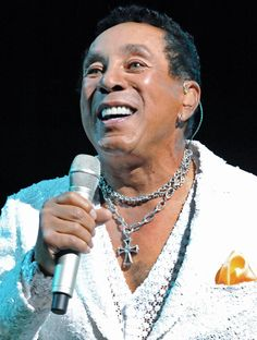 Singer/Composer Smokey Robinson - age 74