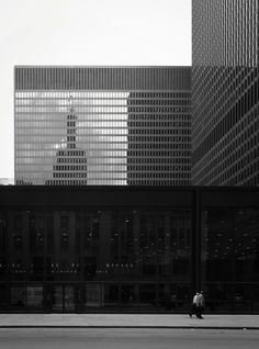 Federal Center, 1959-1973 Chicago, Illinois Mies van der Rohe, Arch.