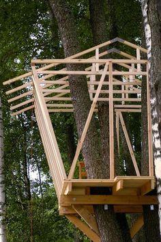 Como hacer una casa en el árbol
