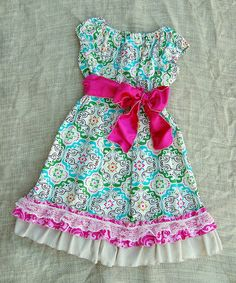 Take a look at this Cream Morocco Dress - Infant, Toddler & Girls on zulily today!