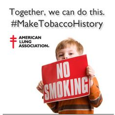 Do you want retailers to stop selling #tobacco? Together, let's make it happen. Stand up for #lunghealth. Urge retailers to #MakeTobaccoHistory