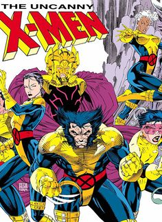 MARVEL MILESTONES: CHRIS CLAREMONT & JIM LEE - X-MEN & THE STARJAMMERS PART 1- I totally remember buying this issue.