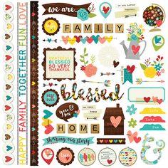 Scrapbook e Tal: Coleção We Are Family, da Simple Stories, já está na Scrapbook e Tal!